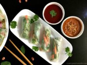 Vietnamese Style Vegetarian Spring Rolls Recipe - Curry and Vanilla