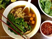 Easy Vegetarian Pho (Vietnamese Noodle Soup) - Curry and Vanilla