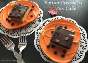 BOSTON CREAM ICE BOX CAKE